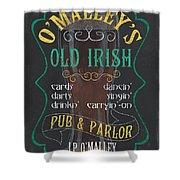 O'malley's Old Irish Pub Shower Curtain
