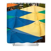 Umbrella  Heaven  Shower Curtain