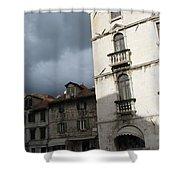 Ominous Sky In Croatia Shower Curtain