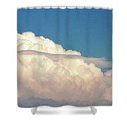 Ominous Thunderstorm Shower Curtain