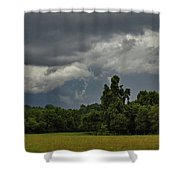 Ominous Yet Not A Drop Shower Curtain