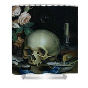 Omnia Vanitas Shower Curtain