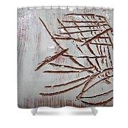Omuyimbi  - Tile Shower Curtain