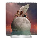 On A Wing And A Prayer Shower Curtain
