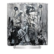 On And On But Not Forever Shower Curtain