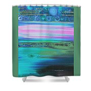 On Another Planet Shower Curtain