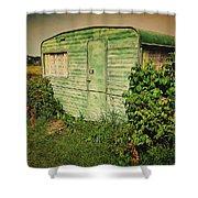 On Caravan Shower Curtain