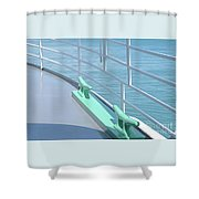 On Deck Shower Curtain