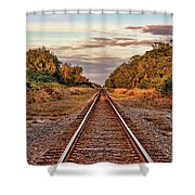 On Down The Line 2 Shower Curtain