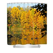 On Golden Pond 2 Shower Curtain