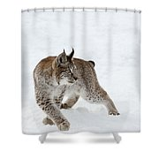 On High Alert Shower Curtain