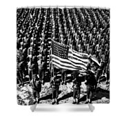 On Parade Shower Curtain
