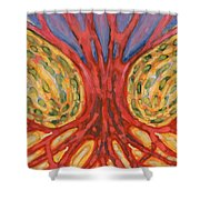 On Retreat Shower Curtain
