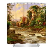 On St Annes East Canada Shower Curtain