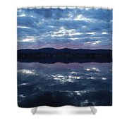 On Still Waters  Shower Curtain