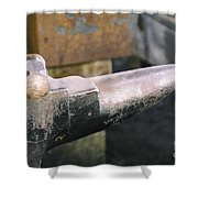 On The Anvil Shower Curtain
