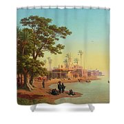 On The Banks Of The Nile Shower Curtain