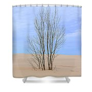 On The Dune Shower Curtain