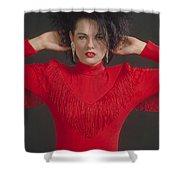 On The Fringe Shower Curtain