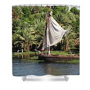 On The Nile Shower Curtain