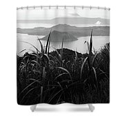 On The Ridge Shower Curtain