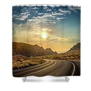 On The Road Again Shower Curtain