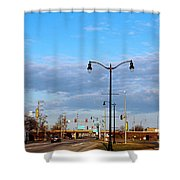 On The Road Agan Shower Curtain
