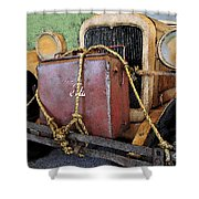 On The Road To Adventure Shower Curtain