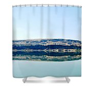 On The Road To Electric City Shower Curtain