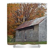 On The Road To Jonesborough Shower Curtain