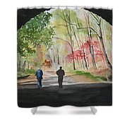 On The Road To Nowhere Shower Curtain