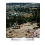 On The Road To Virginia City Nevada 15 Shower Curtain