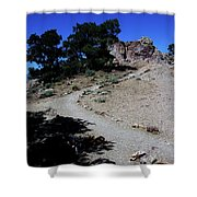 On The Road To Virginia City Nevada 16 Shower Curtain