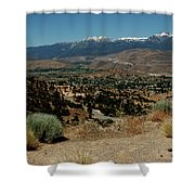 On The Road To Virginia City Nevada 20 Shower Curtain