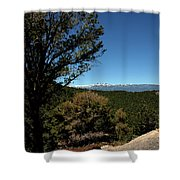 On The Road To Virginia City Nevada 4 Shower Curtain