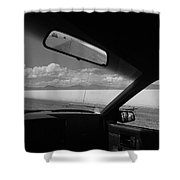 On The Road, Utah Shower Curtain