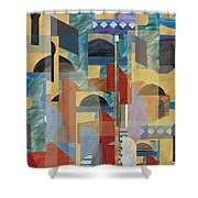 On The Street Shower Curtain