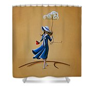 On The Street Where You Live Shower Curtain