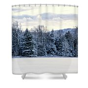 On The Way Home Shower Curtain