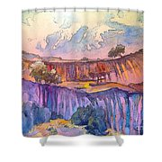 On The Way To Cazorla 03 Shower Curtain