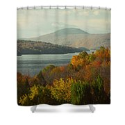 On The Way To Fall Shower Curtain