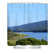 On The Way To Half Moon Bay Shower Curtain