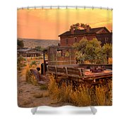 On The Way To Town Shower Curtain