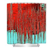 On The Way To Tractor Supply 3 14 Shower Curtain