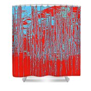 On The Way To Tractor Supply 3 18 Shower Curtain