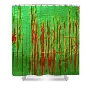 On The Way To Tractor Supply 3 2 Shower Curtain