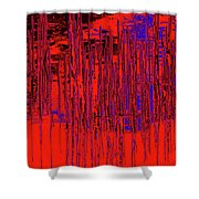 On The Way To Tractor Supply 3 20 Shower Curtain