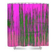 On The Way To Tractor Supply 3 21 Shower Curtain