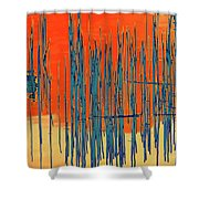On The Way To Tractor Supply 3 22 Shower Curtain