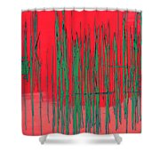 On The Way To Tractor Supply 3 23 Shower Curtain